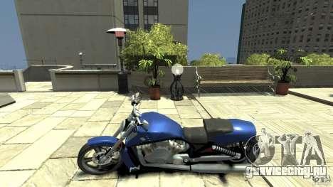 Harley Davidson VRSCF V-Rod для GTA 4 вид слева