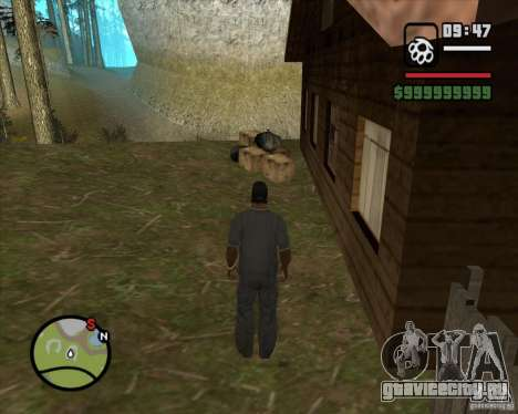 Дом охотника v2.0 для GTA San Andreas пятый скриншот