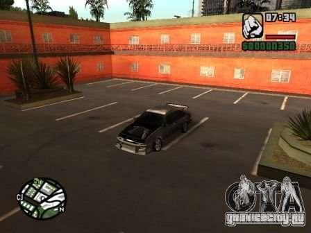Ford Sierra Drift для GTA San Andreas вид сзади