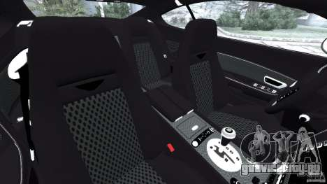 Bentley Continental GT Premier v1.0 для GTA 4 вид изнутри