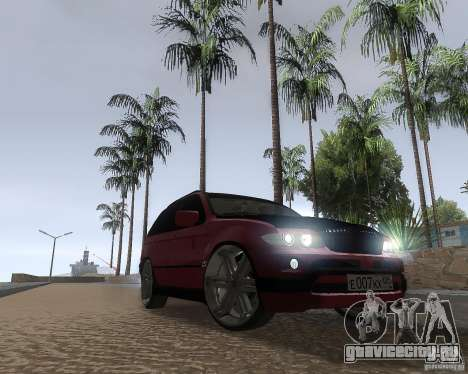 BMW X5 Sport Tun для GTA San Andreas