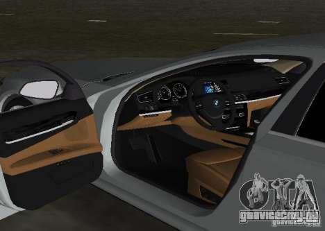 BMW 750 Li для GTA Vice City вид сверху