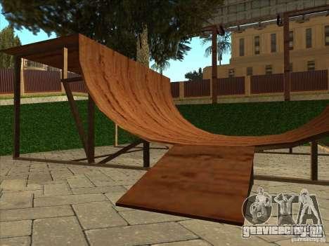 Карта для паркура и площадка bmx для GTA San Andreas десятый скриншот