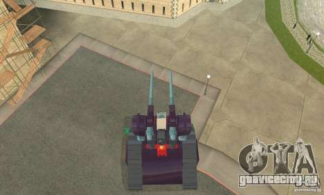 Танк RX-75-4 Guntank для GTA San Andreas вид справа