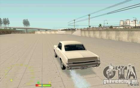 Спидометр и индикатор бензина для GTA San Andreas