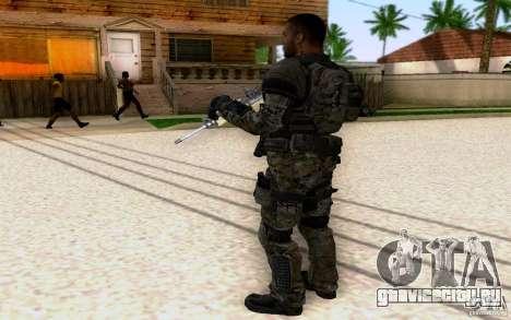 Салазар из CoD: BO2 для GTA San Andreas третий скриншот