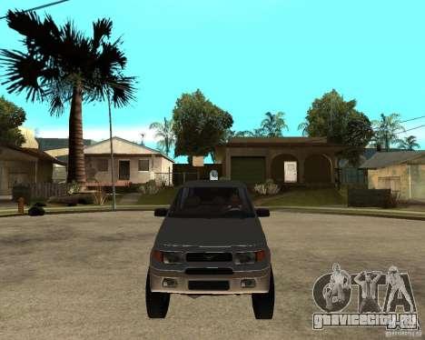 УАЗ Симбир Пикап для GTA San Andreas вид сзади