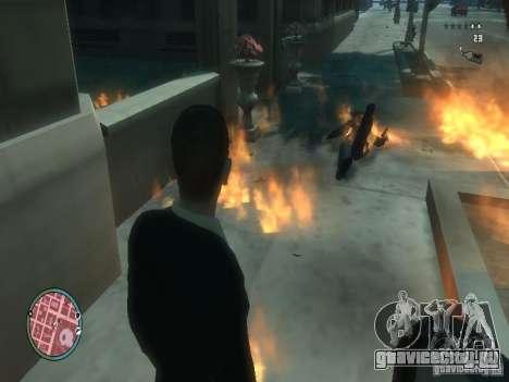 Intense Fire Mod для GTA 4 третий скриншот