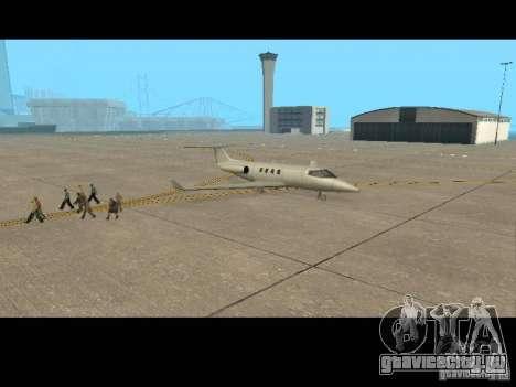 Работа пилотом для GTA San Andreas пятый скриншот