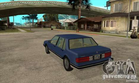 Pontiac Bonneville 1989 для GTA San Andreas вид сзади слева