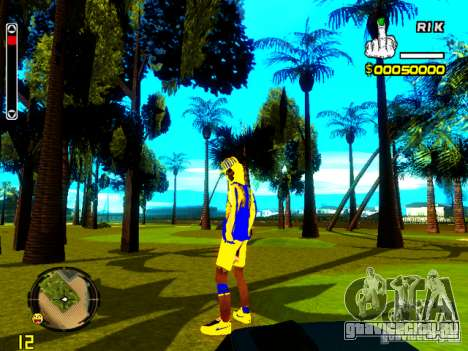 Skin бомжа v2 для GTA San Andreas пятый скриншот