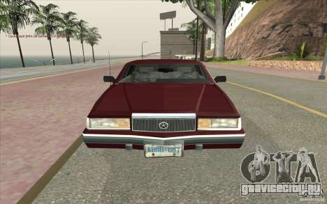 Chrysler Dynasty для GTA San Andreas вид справа
