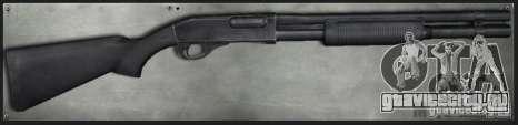 M870 Black для GTA San Andreas