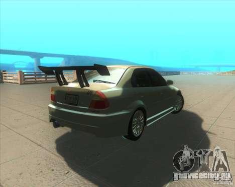 Mitsubishi Lancer Evolution VI 1999 Tunable для GTA San Andreas