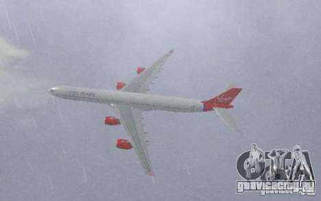 Airbus A340-600 Virgin Atlantic для GTA San Andreas
