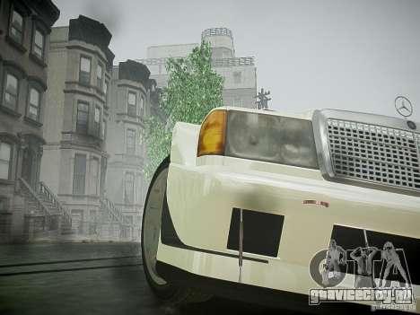 Mercedes 190E Evo2 для GTA 4 вид сзади