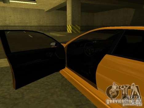 GTAIV Schafter Modded для GTA San Andreas вид сбоку