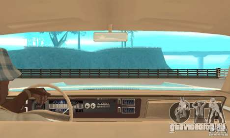 Chrysler New Yorker 4 Door Hardtop 1971 для GTA San Andreas вид сзади