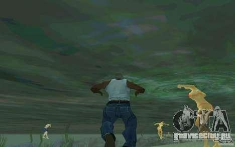 Люди умеют плавать для GTA San Andreas второй скриншот