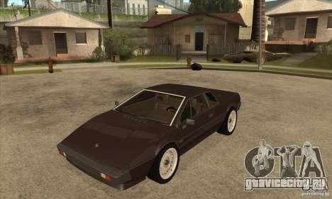Lotus Esprit S3 для GTA San Andreas