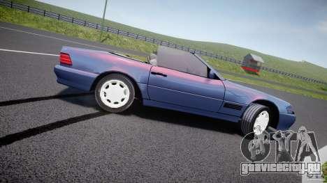 Mercedes-Benz SL500 для GTA 4 вид слева