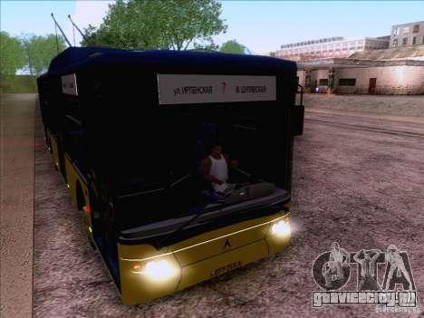 ElectroLAZ-12 для GTA San Andreas вид сбоку