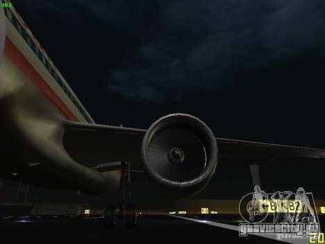 Airbus A320 для GTA San Andreas вид сбоку