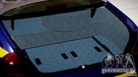 Ford Crown Victoria New York State Patrol [ELS] для GTA 4 вид сбоку