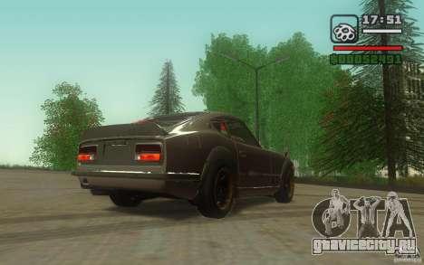 Datsun 240ZG для GTA San Andreas вид справа