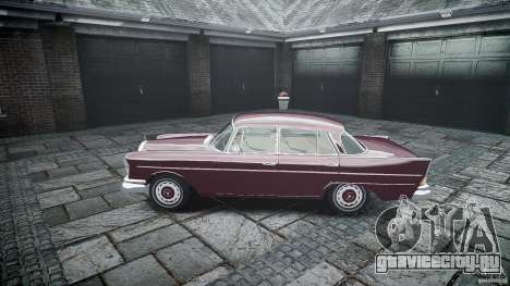 Mercedes Benz W111 Final для GTA 4 вид сбоку