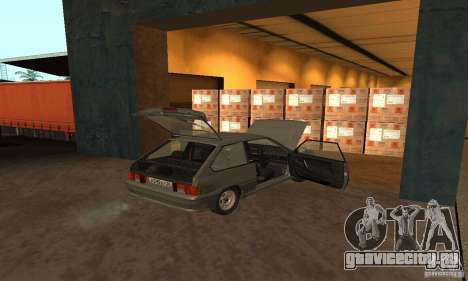 Ваз 2113 Люкс v.1.0 для GTA San Andreas вид сбоку