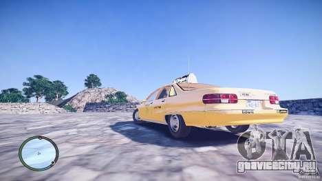 Chevrolet Caprice Taxi для GTA 4 вид слева