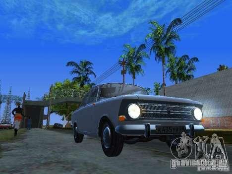 АЗЛК-412 для GTA San Andreas вид сзади