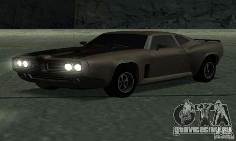 Hunter Cavalry из Burnout Paradise для GTA San Andreas вид сзади слева