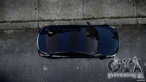 Infiniti G37 Coupe Sport для GTA 4 вид изнутри