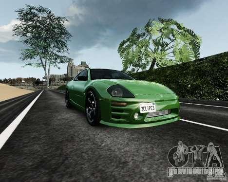 Mitsubishi Eclipse GT-S для GTA 4 вид изнутри