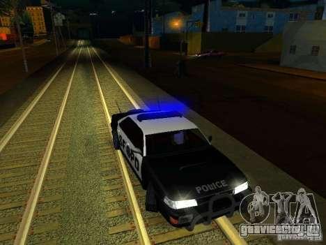 San-Fierro Sultan Copcar для GTA San Andreas вид сверху