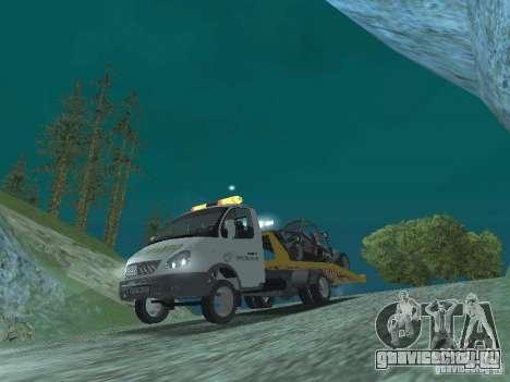 ГАЗ 3302 2003-2011г. Эвакуатор для GTA San Andreas вид сзади