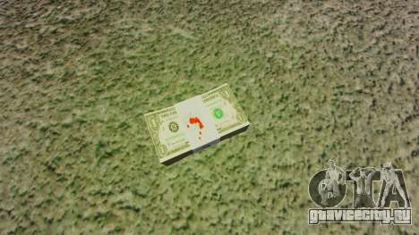 Денежные купюры США номиналом 1$ для GTA 4