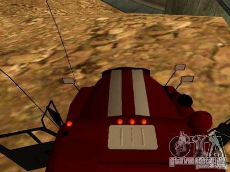 Урал 5557-40 пожарная для GTA San Andreas вид справа
