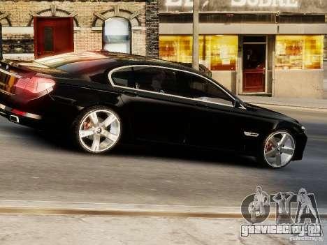 BMW 750 LI 2010 для GTA 4 вид справа