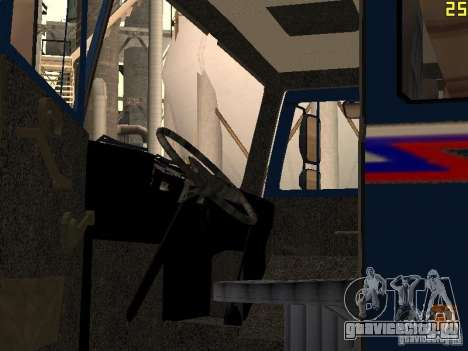 МАЗ 533632 для GTA San Andreas вид сбоку
