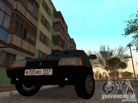 ВАЗ 21099 CR v.2 для GTA San Andreas вид справа
