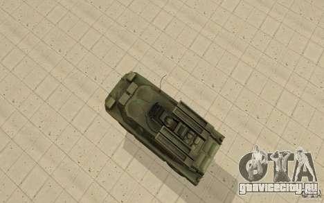 9К31 Стрела-1 Стандартный для GTA San Andreas вид справа