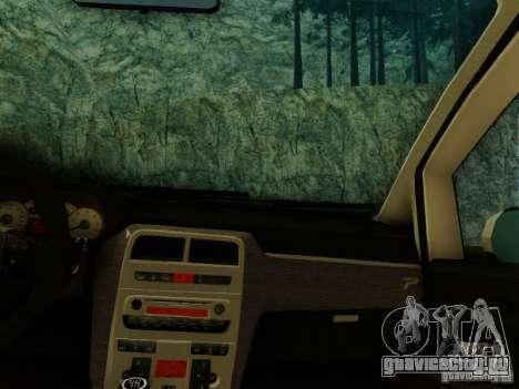 Fiat Grande Punto CLD Style для GTA San Andreas вид сзади слева