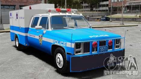 GMC C3500 NYPD ESU для GTA 4