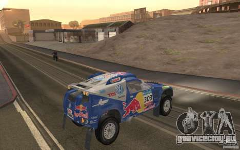 Volkswagen Race Touareg для GTA San Andreas вид справа