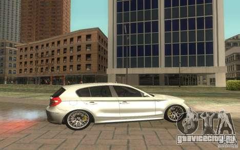 BMW 120i для GTA San Andreas вид слева