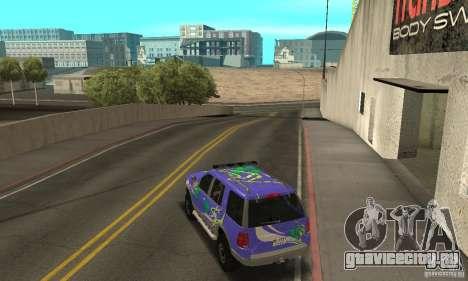 Ford Explorer 2002 для GTA San Andreas салон