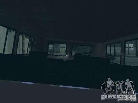 УАЗ 2206 для GTA San Andreas салон